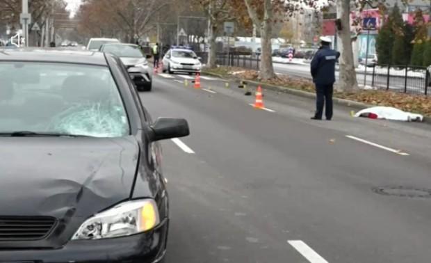 Жена загина, пометена от кола на пешеходна пътека в Русе